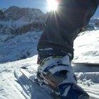 Cómo limpiar forros de botas de esquiar