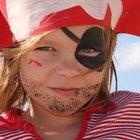 Disfraces de piratas para niñas, fáciles de hacer en casa