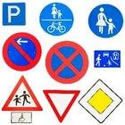 Tipos de señales de tránsito y su significado