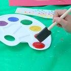 Técnicas de pintura de papel