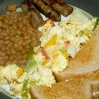 Opciones saludables para el desayuno en un restaurante