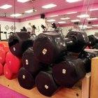 Entrenamientos en salón de pesas