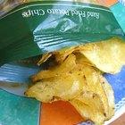 Cómo hacer monederos de bolsas de papas fritas