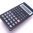 Cómo usar la función de potencia en una calculadora científica