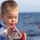 Bebés que tosen y vomitan