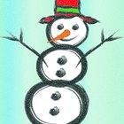 Cómo hacer un disfraz de muñeco de nieve para un niño