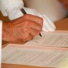 El significado de la tinta de color en los documentos legales