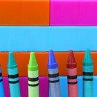 Cómo hacer un disfraz de crayón
