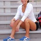 Ejercicios en tabla de equilibrio para fortalecer los ligamentos del tobillo