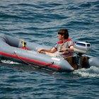 Cómo reparar un bote inflable
