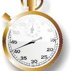 Cómo funciona un cronómetro
