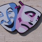 El significado de las máscaras de drama