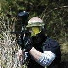 ¿Cómo funciona una pistola y el tanque de paintball?