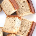 Pan de plátano saludable