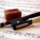 Cómo aplicar resina al violín por primera vez