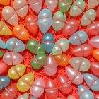 ¿Cuánto tiempo dura un globo de látex lleno de helio?
