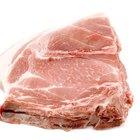 Cocinar saludablemente las chuletas de cerdo