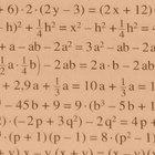 Actividades matemáticas en grupo sobre polinomios