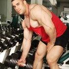 ¿Qué músculos se utilizan en los ejercicios de entrenamiento con pesas?