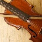 Cómo reparar un arco de violín
