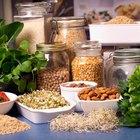 Porcentaje de carbohidratos, grasas y proteínas en una dieta de 2.000 calorías