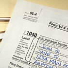 How to Enter Pension Payments on a Tax Return