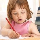 Cómo hacer un cartel de actividades para niños preescolares