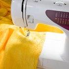 Cómo ajustar tensión del hilo en una máquina de coser