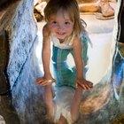 ¿Cómo construir un túnel para que los niños jueguen?