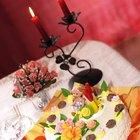 Ideas sencillas y elegantes para centros de mesa para un cumpleaños de 40 años