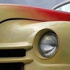 Tres etapas de pintura automotriz