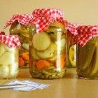 Cómo hacer pickles en escabeche