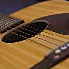 Diferencia entre las cuerdas delgadas y gruesas para guitarra