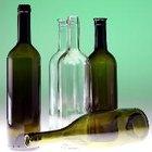 Cómo taladrar un agujero en una botella de vidrio
