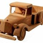 Cómo hacer camiones de madera