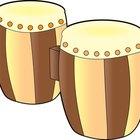Cómo hacer un bongó para un proyecto escolar