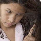 Cómo tratar el cabello dañado y las puntas abiertas