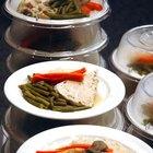 Requisito diario en gramos de proteínas, carbohidratos y grasas
