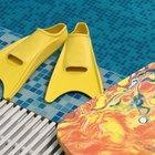 Técnicas de tabla para nadar