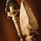 Cuchillos y herramientas de la Edad de Piedra