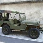 Especificaciones para un Jeep Willys 1948