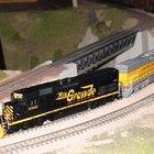 Cómo reparar locomotoras de trenes de juguete
