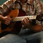¿En qué notas están afinadas las cuerdas de una guitarra?