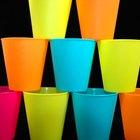 Cómo pintar vasos de vidrio