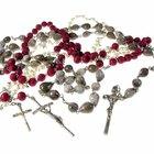 Cómo hacer un rosario con hilo
