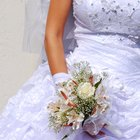 How to Remove Old Stains From a Wedding Dress