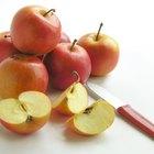 ¿Qué nutrientes se pierden cuando una manzana se oxida?