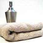 Cómo calentar toallas en el microondas