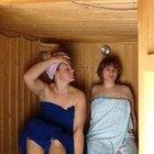 Las calorías quemadas sentado en un sauna de vapor durante 15 minutos