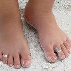 Problemas con las uñas curvadas de los pies